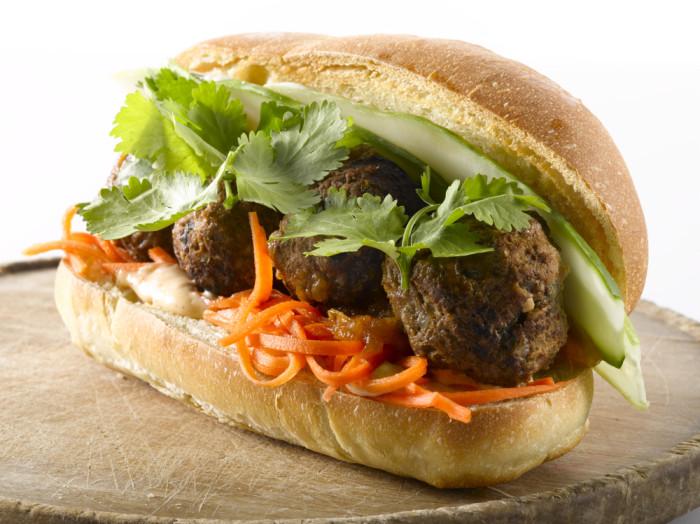 Num Pang Veal Meatball Sandwich Recipe