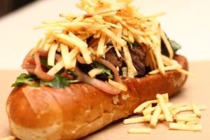 beef short rib sandwich photo