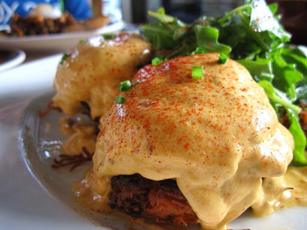 Steak and Chipotle Eggs Benedict Recipe - Food Republic