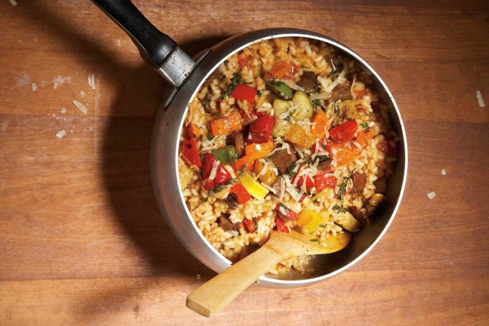 No mouse has touched this risotto.