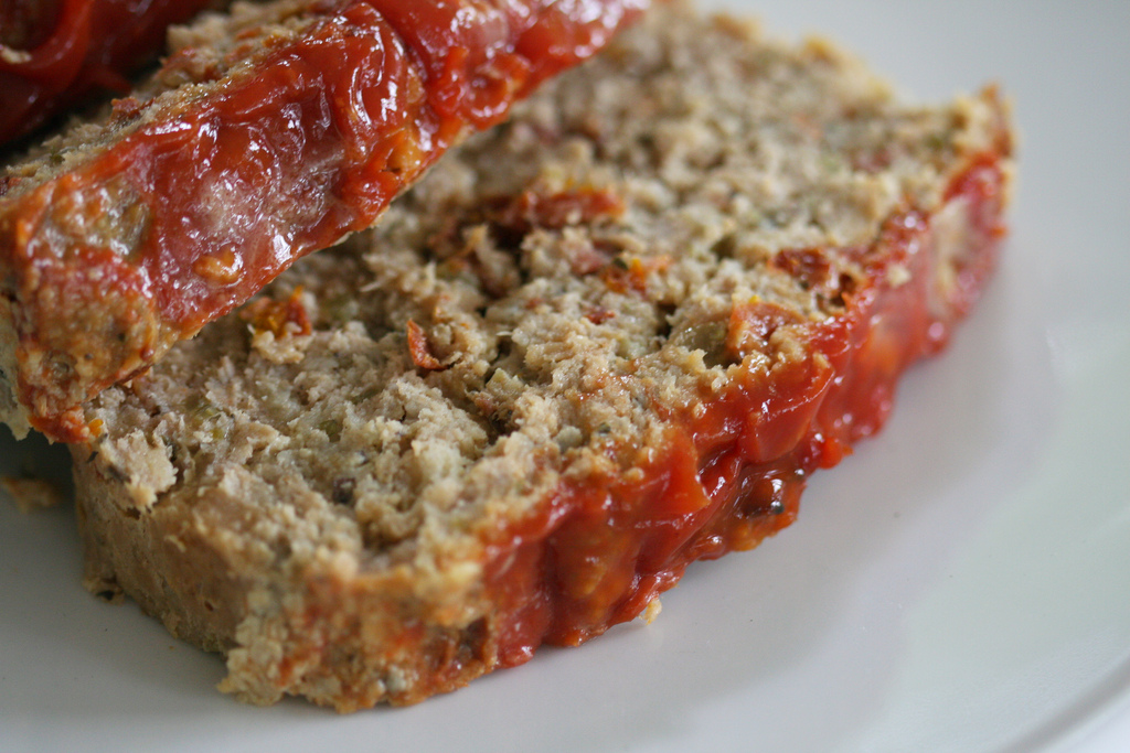Chicken Meatloaf With Sun Dried Tomatoes Food Republic