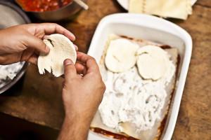 Add mozzarella slices