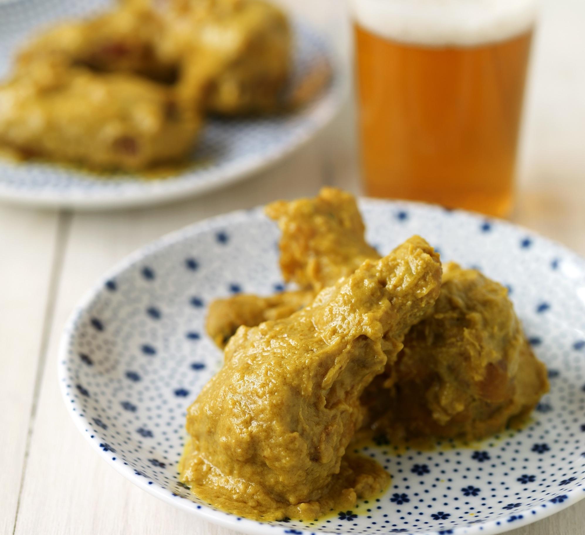 Mighty Mustard Wings Recipe - Food Republic