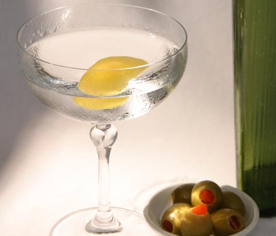Classic dry gin martini recipe food republic for Best gin for martini recipes