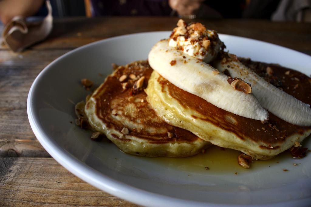 Bananas Foster Pancakes Recipe
