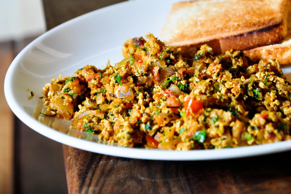 Akoori Indian Scrambled Eggs Food Republic