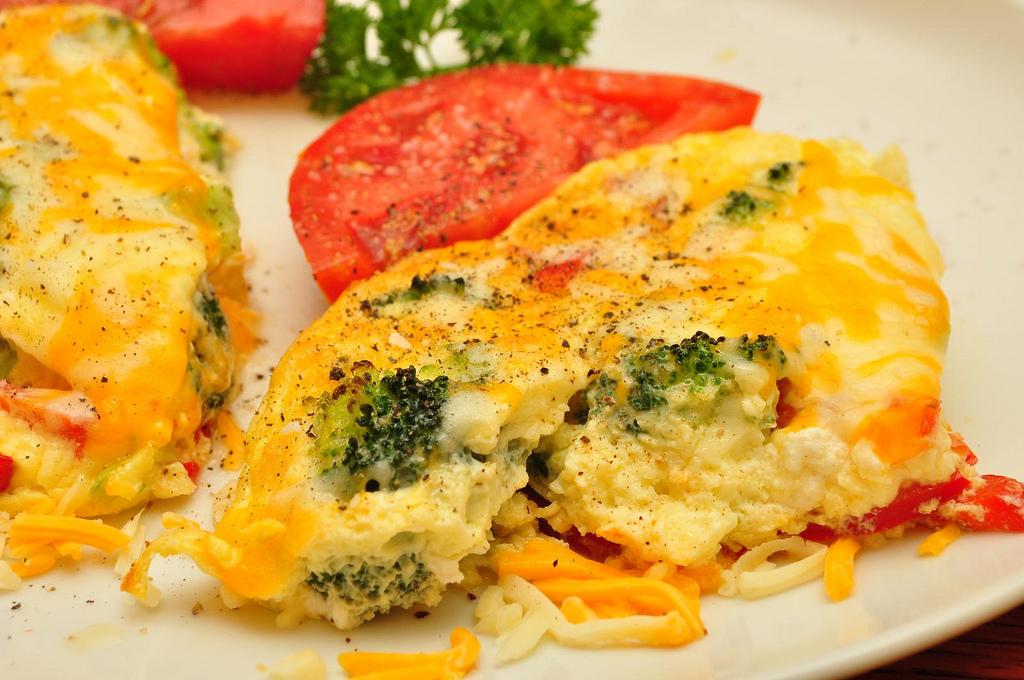 Broccoli Cheddar Scramble Recipe - Food Republic