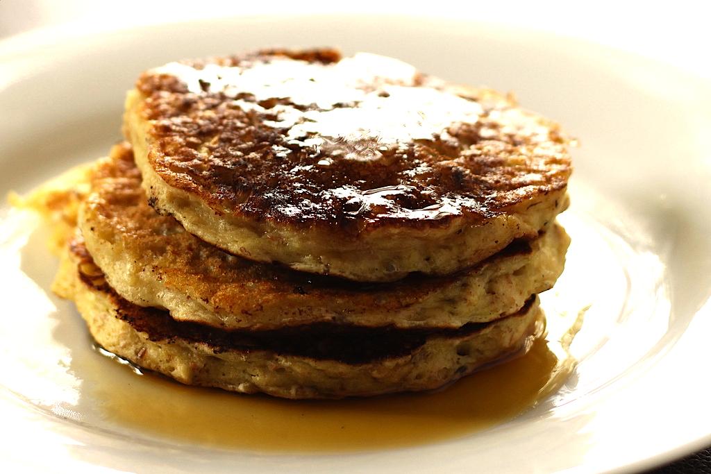 Oatmeal Raisin Pancakes Recipe