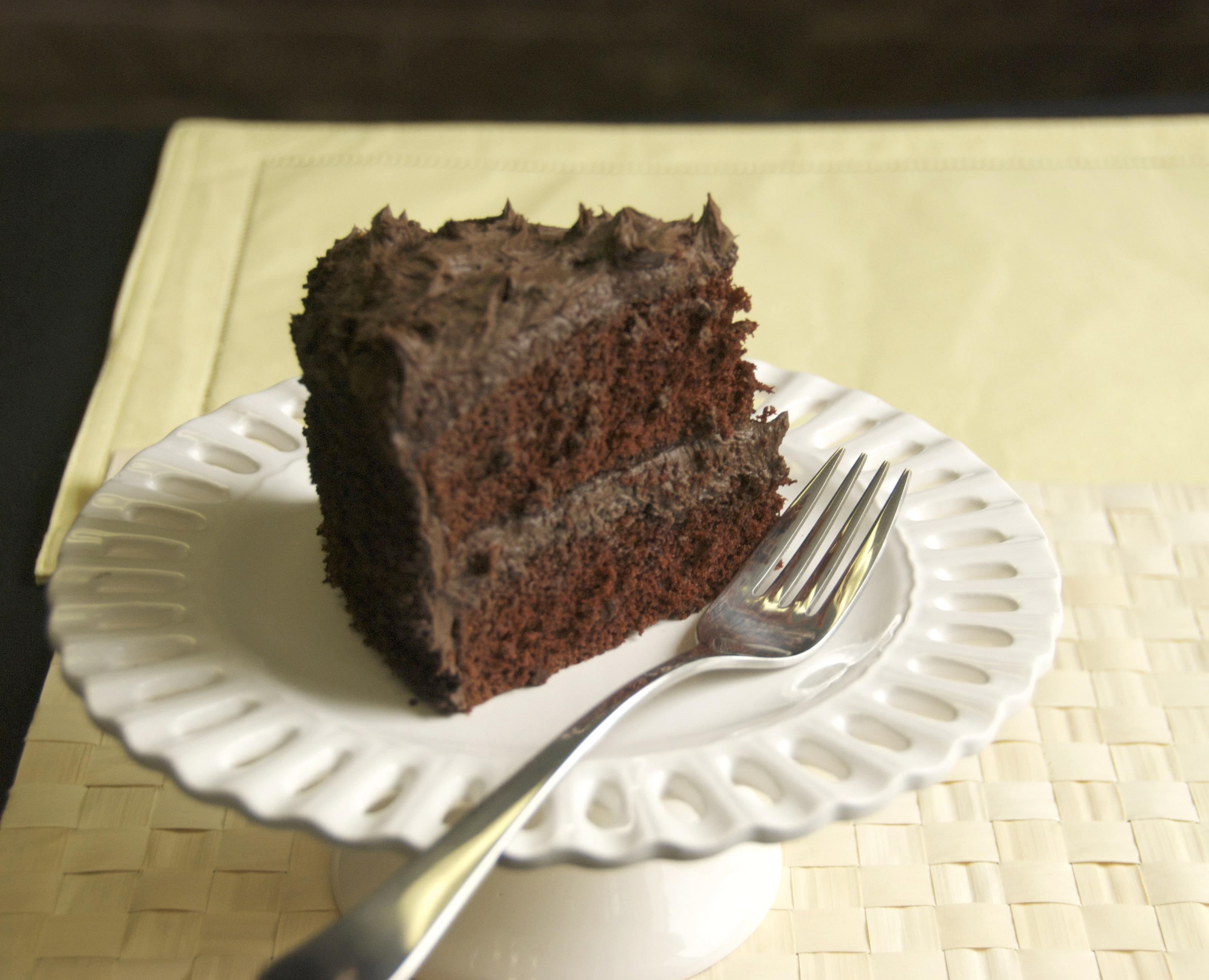 Capitol grade dark chocolate cake recipe food republic forumfinder Images