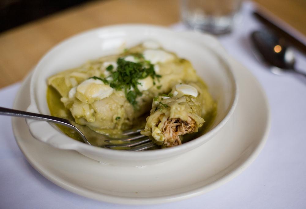 Enchiladas Suizas Recipe With Chicken Food Republic