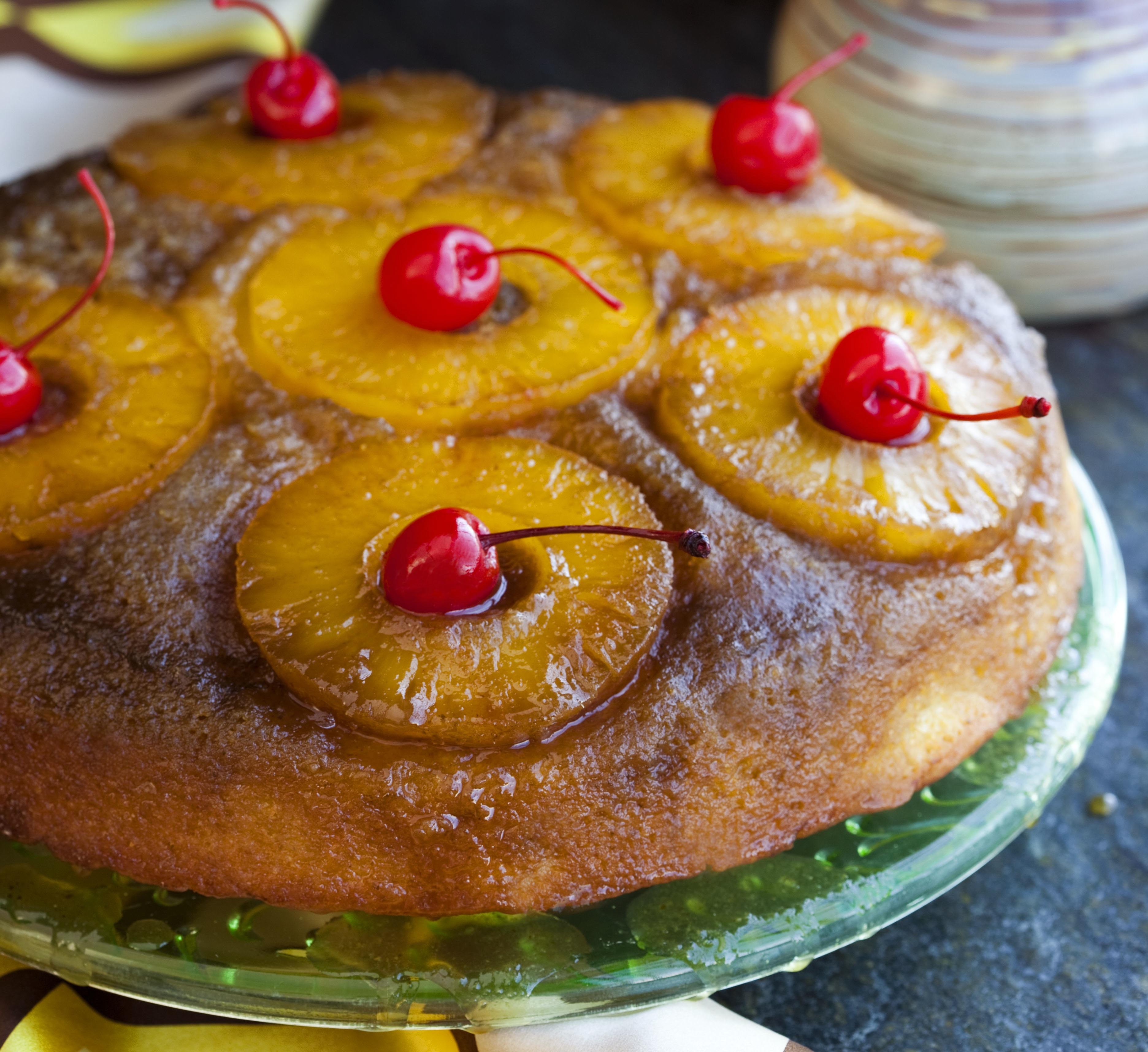 Pineapple Express Upside Down Cake - Food Republic