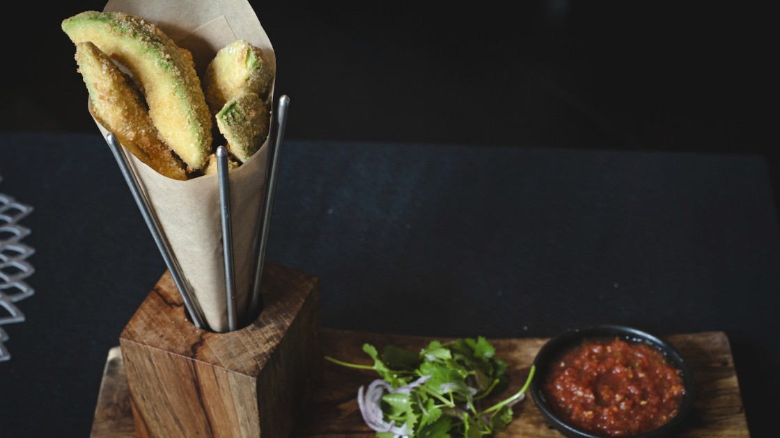 deep fryer Easy Avocado Fries Recipe
