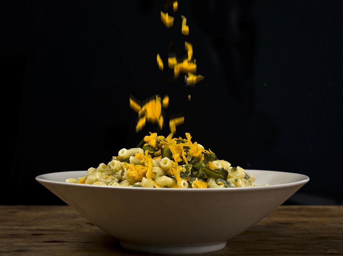 Green Chile-Cheddar Macaroni Salad - Food Republic
