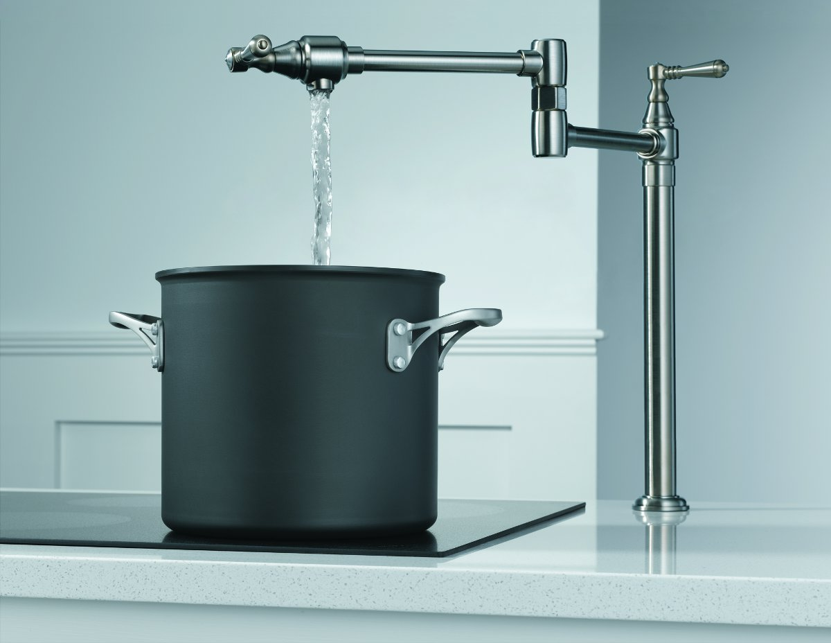 Have you gotten your stovetop pot filler faucet yet Pot filler faucet