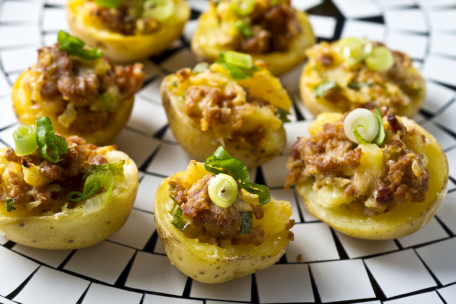 Chorizo Potato Bites Recipe