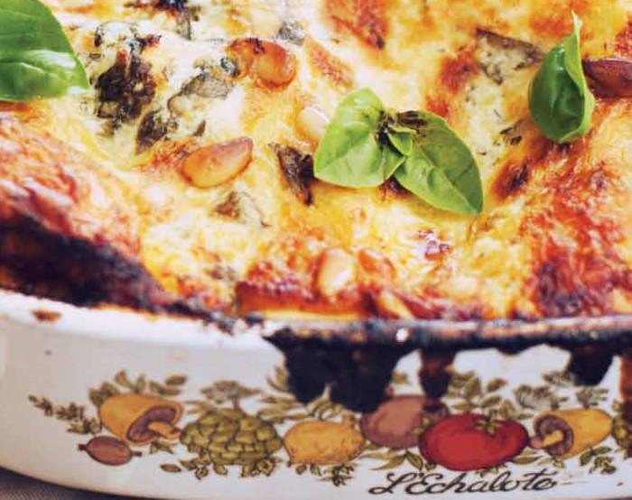 roast chicken lasagna