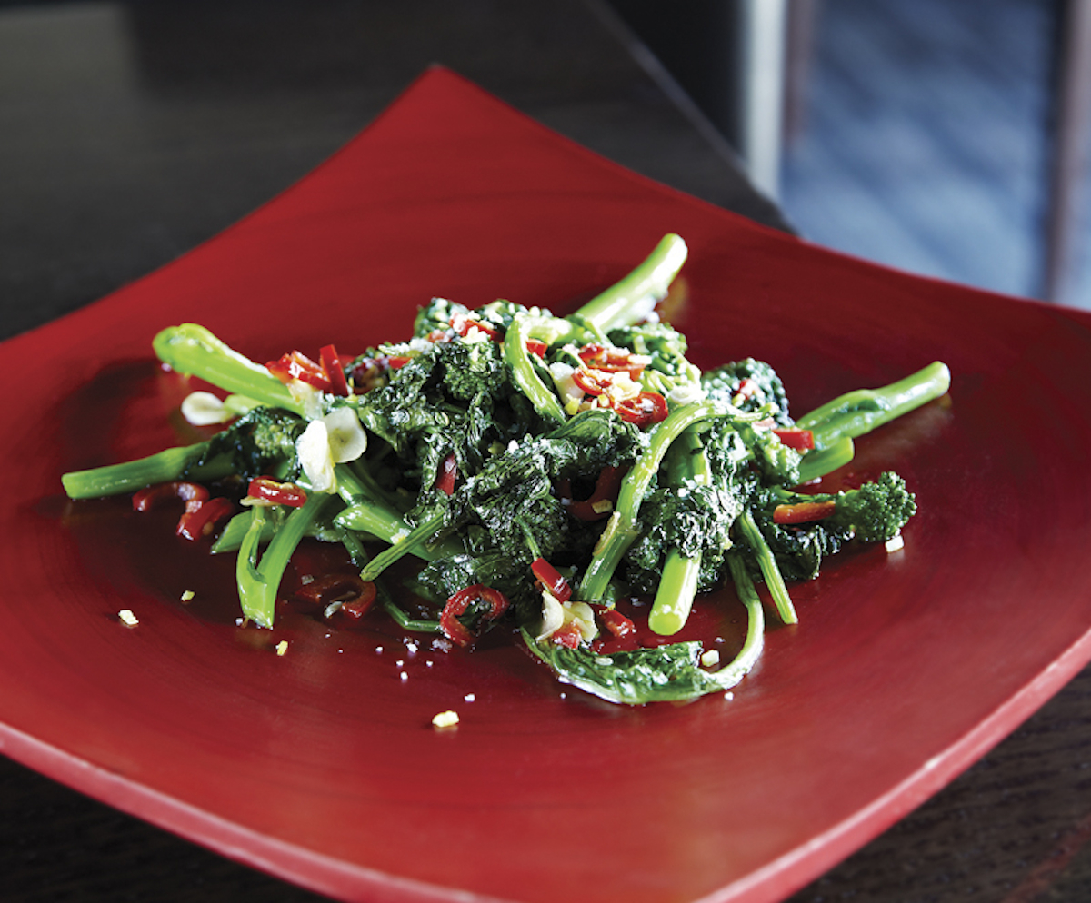 Rapini With Chili And Meyer Lemon Recipe - Food Republic