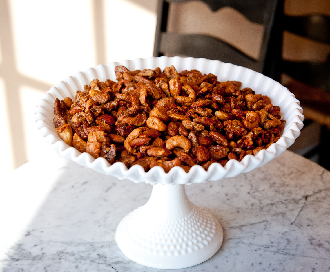 Bacon Candied Apple Spiced Nuts Recipe - Food Republic