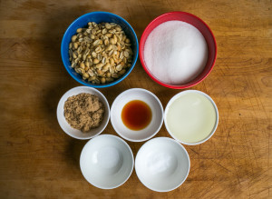 Lay out your ingredients