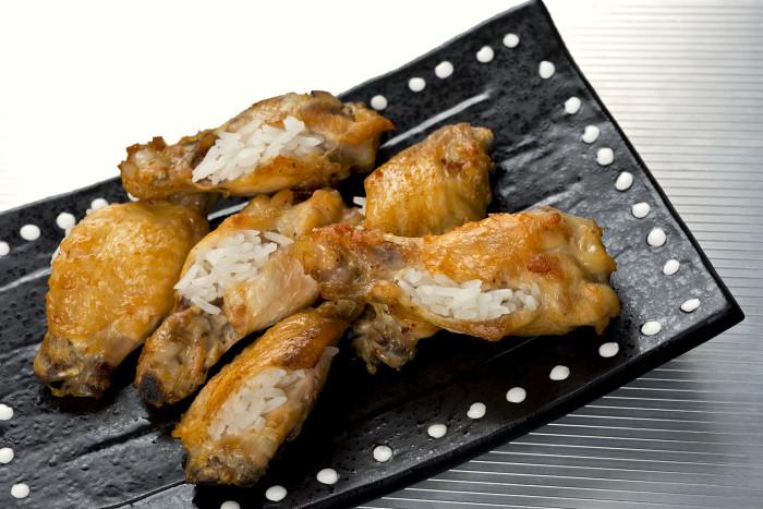 singaporean chicken rice wings