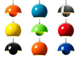 Verner Panton lamps