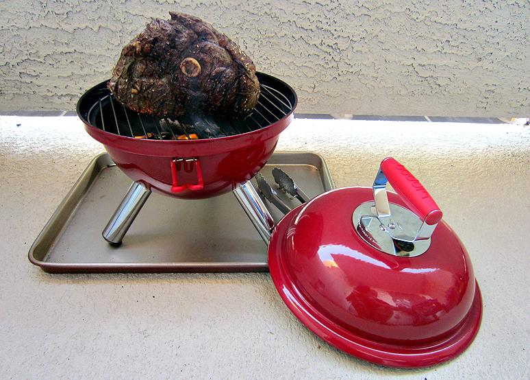 bodum fyrkat mini picnic charcoal grill food republic. Black Bedroom Furniture Sets. Home Design Ideas