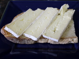start with the brie