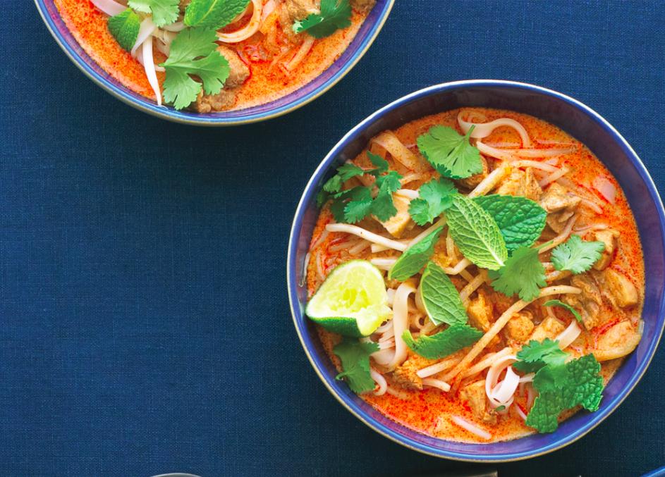 Chicken Laksa Recipe Food Republic