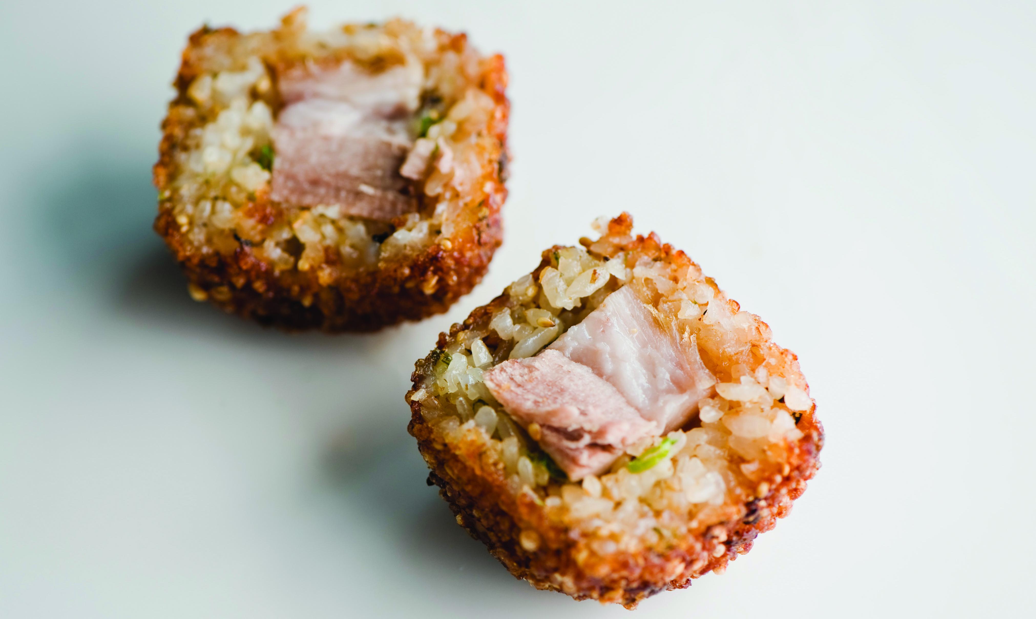Pork Belly Onigiri Recipe