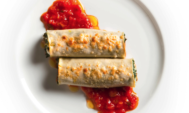28 vegetarian italian recipes for dinner food republic cannelloni with swiss chard and fresh goat cheese recipe forumfinder Image collections