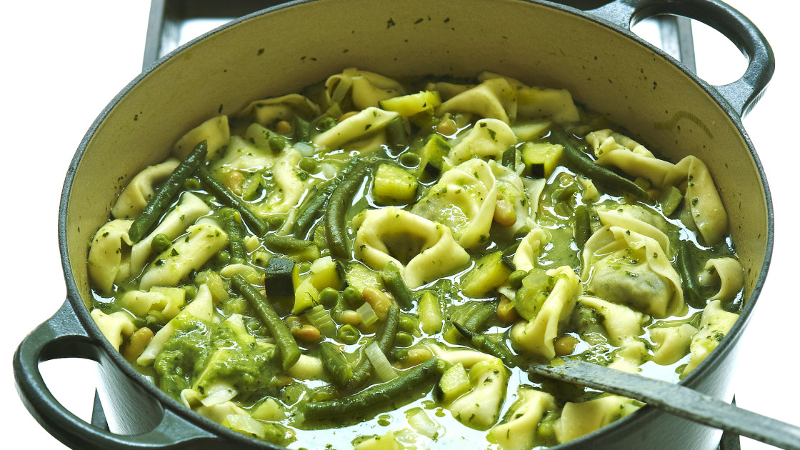 28 vegetarian italian recipes for dinner food republic polenta go green tomato free tortelloni minestrone recipe forumfinder Image collections