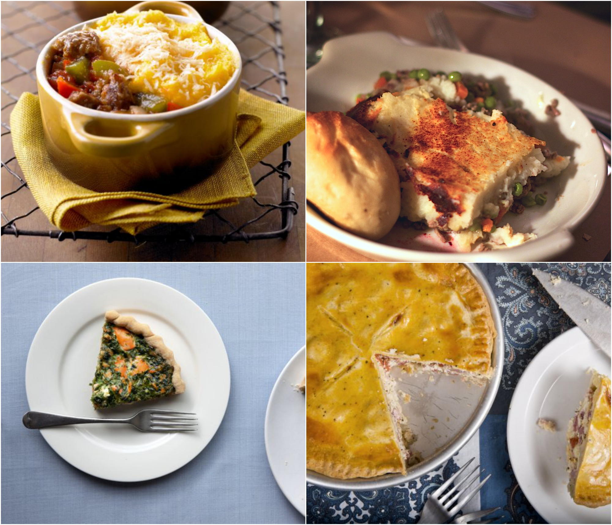 What To Have For Dinner: 9 Ideas For Dinner Tonight: Savory Pies