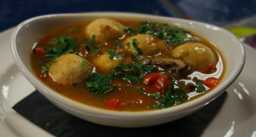 Mexican Matzo Ball Soup Recipe Food Republic