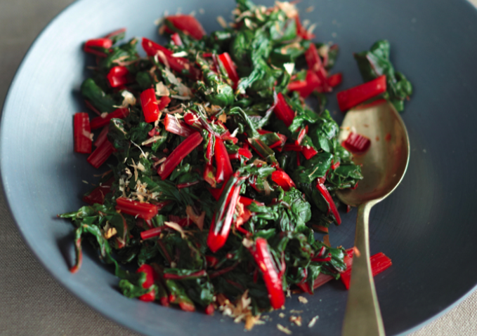 A winter twist on a Japanese dish that won't make you miss the spinach. (Photo: Raymond Ham.)