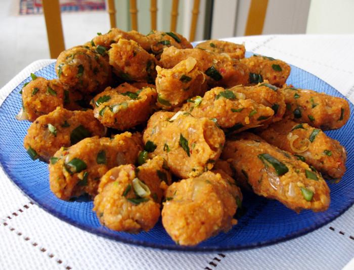Lentil-Bulgur Meatballs Recipe