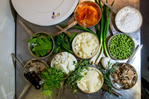Lay out your mise en place