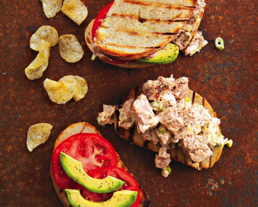 Grilled Tuna Sandwiches Recipe