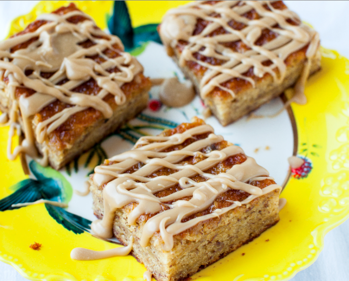 Banana Bread Pudding Cake Recipe