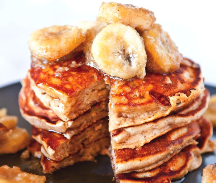 Peanut Butter And Banana Pancakes Recipe