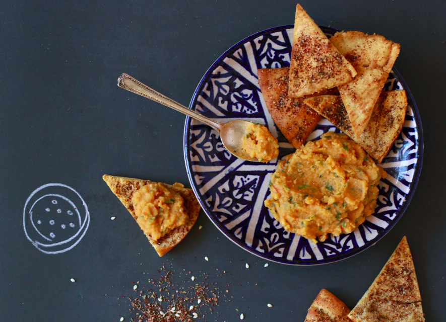 Za'atar-Dusted Pita Chips Recipe – Food Republic