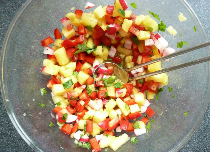 A colorful salsa to satisfy you all summer long.