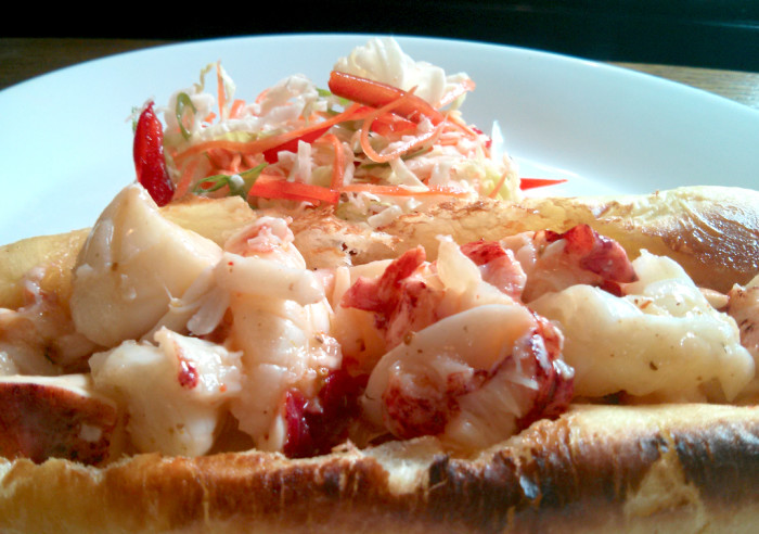 This recipe is catered towards those who want a little more flavor in their lobster rolls.