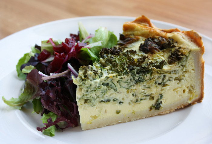 Grilled Asparagus And Feta Quiche Recipe