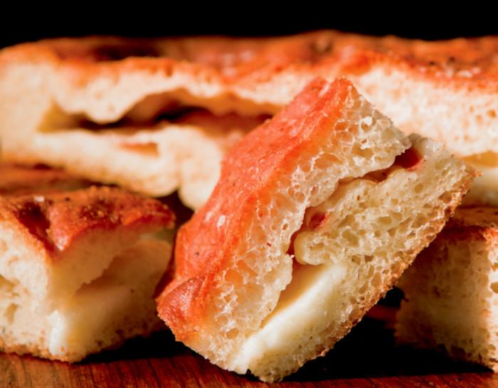 Focaccia Stuffed With Taleggio And Pancetta Recipe