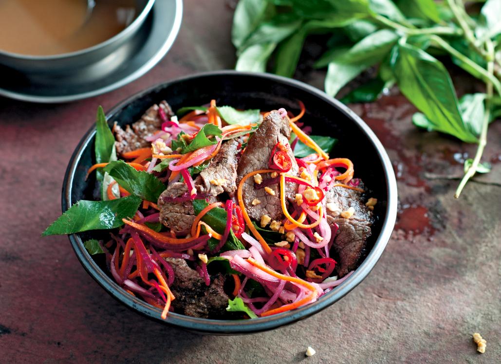 Tamarind Beef & Kohlrabi Salad Recipe - Food Republic