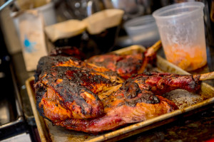 Rest the turkey