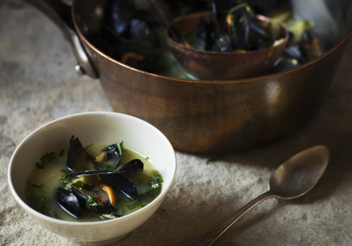 Warm up but keep it light with this soup. (Photo: Maura McEvoy.)