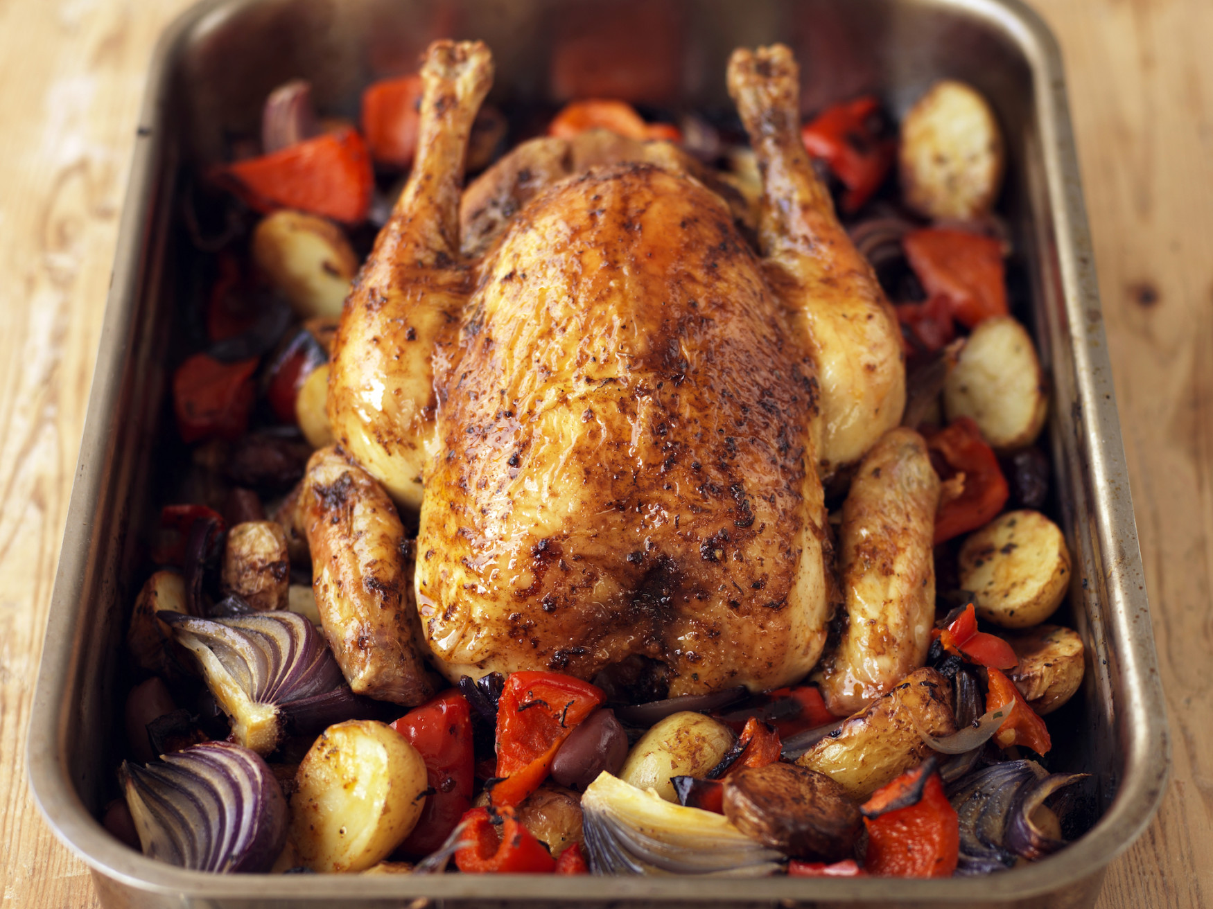 Spanish Style Roast Chicken Recipe Food Republic