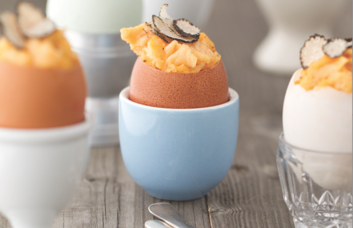 This recipe takes a little work, but it's well worth the egg-fort. (Photo: Jacqui Melville.)