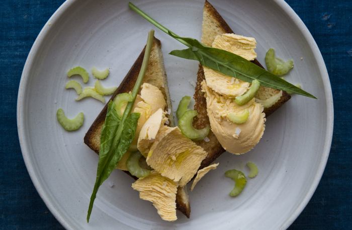 This butter will up the brininess of your toast. (Photo: Nicole Franzen.)
